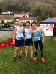 Des podiums sur le cross départemental & open de Vernon !!!
